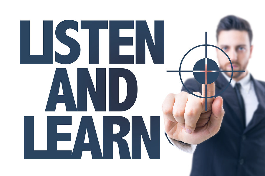 Listen and Learn: The Right Conversation With Prospective Clients